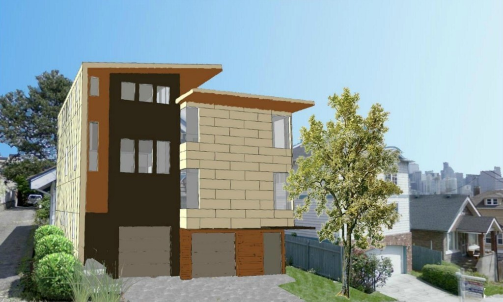 343049 0 New Modern Queen Anne Townhouses