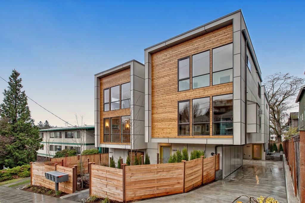New modern townhouses in fremont urbnlivn for Modern townhouse