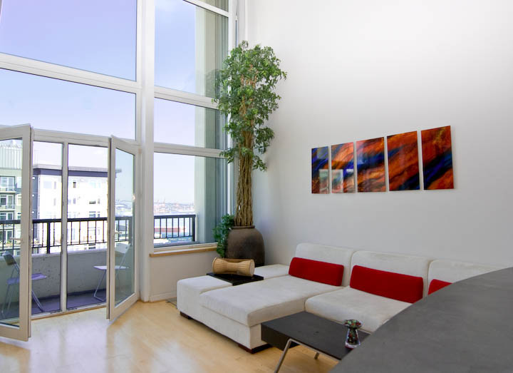 298797 0 Short Sale Penthouse Loft at the Klee