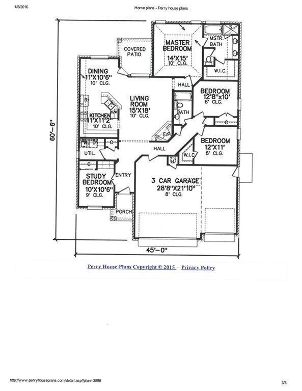 Perry house plans oklahoma city ok for House plans oklahoma