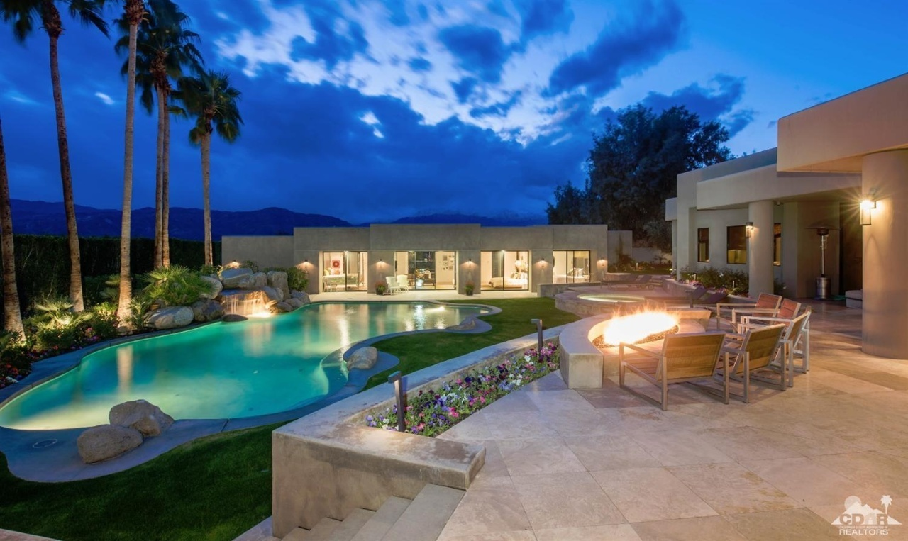 rancho mirage big and beautiful singles - entire home/apt for $125 experience the desert lifestyle in a rancho mirage classic this home has west facing mountain views that are beautiful year round with clouds, sun.