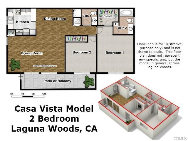 Algarrobo Unit A Laguna Woods CA MLS OC - Laguna woods village floor plans