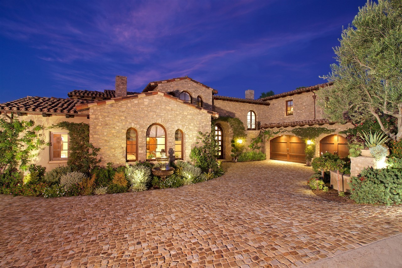 18334 calle stellina rancho santa fe ca 92091 mls 170004679 redfin - Tuscan style house plans passionate architecture ...