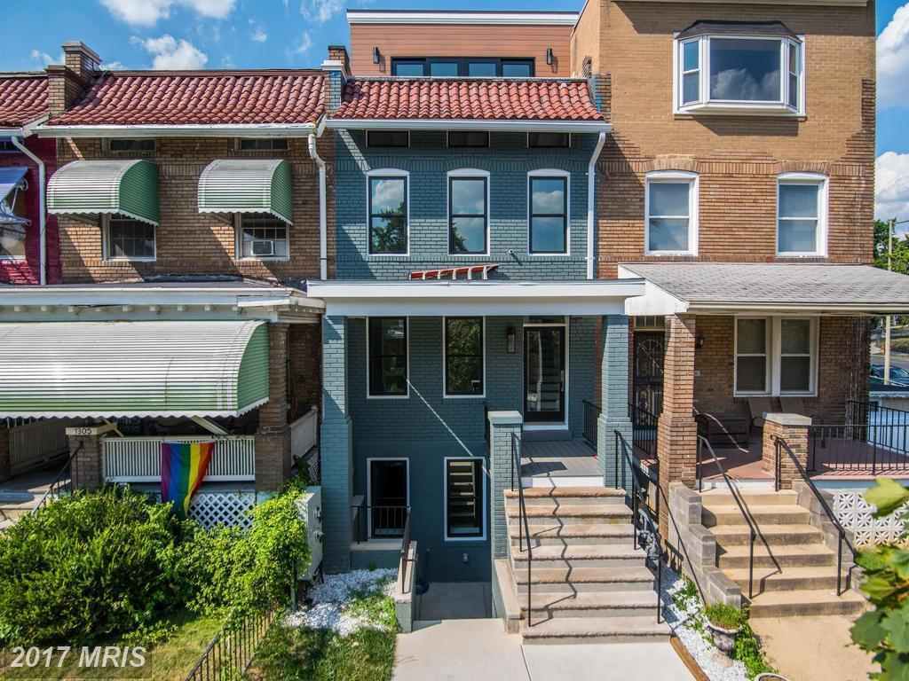Two bedroom columbia heights unit with programmable heated bathroom - Two Bedroom Columbia Heights Unit With Programmable Heated Bathroom 4